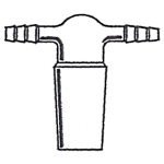 AD-0180: Inert Gas Adapter, Inner Joint, Two Hose Connections