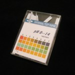 pH Indicator Paper pH 0-14. Each box contains 100 6 x 85mm color-fixed, non-bleeding, indicator strips.