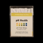 pH Indicator Paper pH 4.5 - 9.0. Each box contains 100 6 x 85mm super sensitive wide range indicator strips (pH Health).
