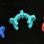 Keck Clips, Ground Joint, PP Holder size #24. Fits ground joints of size 24/40.