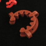 Keck Clips, Ground Joint, PP Holder size #45. Fits ground joints of size 45/50.