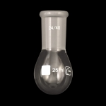Evaporating Flasks, Single Neck Capacity 25ml. Joint Size 24/40.