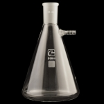 Filtering Flasks Capacity: 500mL. Top outer ground joint: 24/40.