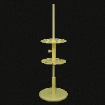 Rotary Pipette Stand, Polypropylene Rod height: 23 in.